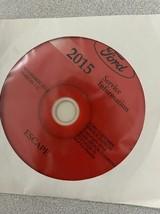 2015 Ford ESCAPE Service Shop Repair Workshop Manual ON CD NEW W EWD  - $257.35