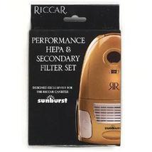 Riccar Sunburst HEPA, and charcoal filter set. - $19.99