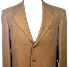 Adolfo Cashmere Sport Coat Mens Size 40 Regular Couture Fully Lined Thre... - $60.34