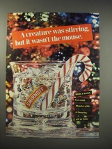 1990 Smirnoff Vodka Ad - A creature was stirring, but it wasn't the mouse - $14.99