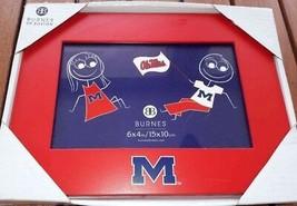 New Ole Miss Rebels Photo Picture Frame Red - BURNES of Boston NCAA NIP ... - $8.42