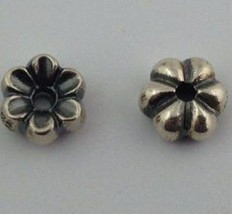 Authentic Trollbeads Mayflower Sterling Silver Charms 1pair for Earrings 16102 - $38.63