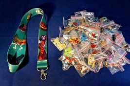 Disney World 25 Pin Trading Lot Lanyard Starter Set NBC Jack Sally Zero ... - $19.79
