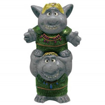Walt Disney Frozen Movie Trolls Ceramic Salt and Pepper Shakers Set NEW UNUSED - $24.18