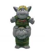 Walt Disney Frozen Movie Trolls Ceramic Salt and Pepper Shakers Set NEW ... - $24.18