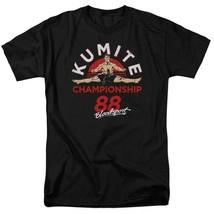 Bloodsport T-shirt Retro movie 1988 Kumite Championship graphic tee MGM293 image 1