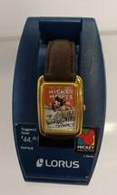 Retired Disney Watch Barnyard Olympics. Unworn on holder base. - $110.00