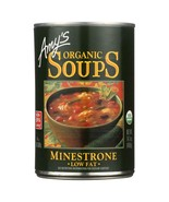 Amy's Organic Low Fat Minestrone Soup 14 oz ( Pack of 12 ) - $62.99