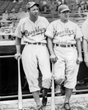 DIXIE WALKER & JOE MEDWICK 8X10 PHOTO BROOKLYN DODGERS BASEBALL PICTURE MLB - $3.95