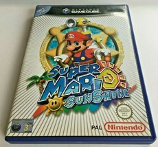 Gamecube SUPER MARIO SUNSHINE Game A Timeless Classic Complete PAL UK - $45.78