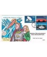 VASTNESS OF SPACE US FIRST DAY COVER #3409 COLLINS HAND PAINTED 2002  - €15,87 EUR