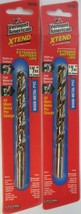 "Vermont American 12753 13/32"" Xtend Drill Bit 2 Pack - $4.21"