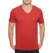 John Varvatos Star USA Men's Short Sleeve Peace Sign V Neck Tee Shirt Po... - $44.90