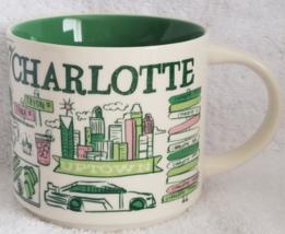 Starbucks 2018 Charlotte, North Carolina Been There Coffee Mug NEW IN BOX - $28.28
