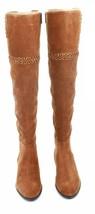 Michael Kors Suede Boots Tan Caramel Brown Size UK 4 EU 3 Womens Malin R... - £191.65 GBP