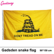 3x5 Feet Gadsden DONT TREAD ON ME Culpepper Rattlesnake Tea Party Flag s... - $13.30