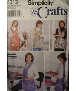 Sewing Pattern Aprons Simplicity 5313 Uncut - $4.50