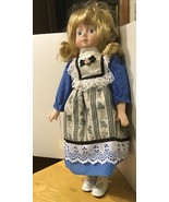 Ronnele Amy Porcelain Head Doll - $9.49