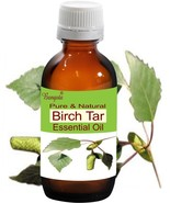 Birch Tar Oil- Pure & Natural Essential Oil- 10 ml Betula alba by Bangota - $10.15