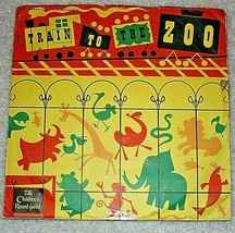 TRAIN TO THE ZOO 78rpm CRG children's activity record; Told by Norman Rose - £10.56 GBP