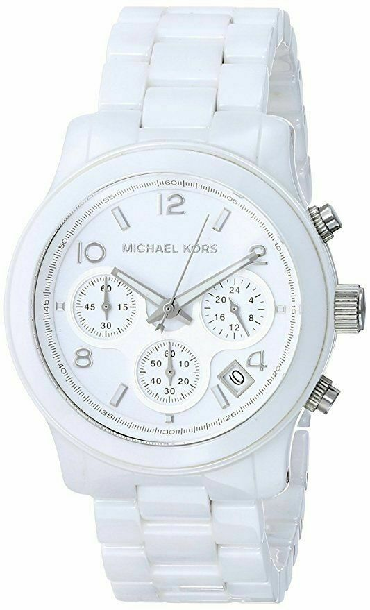 Primary image for Michael Kors MK5161 Runway Ceramic White Watch for Women