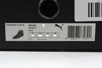 Puma Suede Mid X Stuck Black Alife 358866 01 Men's SZ 9