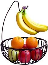 Fruit Tree Bowl Banana Hanger Countertop Holder Organizer Storage Rack S... - £14.43 GBP