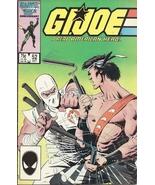 (CB-5) 1986 Marvel Comic Book: G.I Joe A.R.A.H. #52 { 1st Print } - $3.75