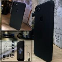Apple iPhone SE 2020  Shockproof Hybrid  Glass Screen Protector Black  MODEX™ - $14.04