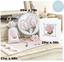 MAGNIFICENT MAGNOLIAS -  CROSS STITCH PATTERN  EQ RRV - $6.68
