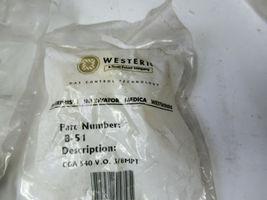 "2 Western Enterprises B-51 Medical Gas Fitting Outlet, RH Male .903""-14 NGO New image 3"