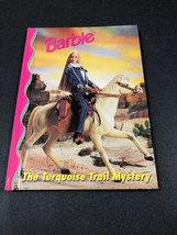 Barbie And Friends Book Club - The Turquoise Trail Mystery HC Illustrate... - $7.91