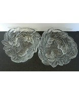 Loganberry Pattern Mint Bowls / Candy Dishes Indiana Glass Clear Lot of ... - $12.86