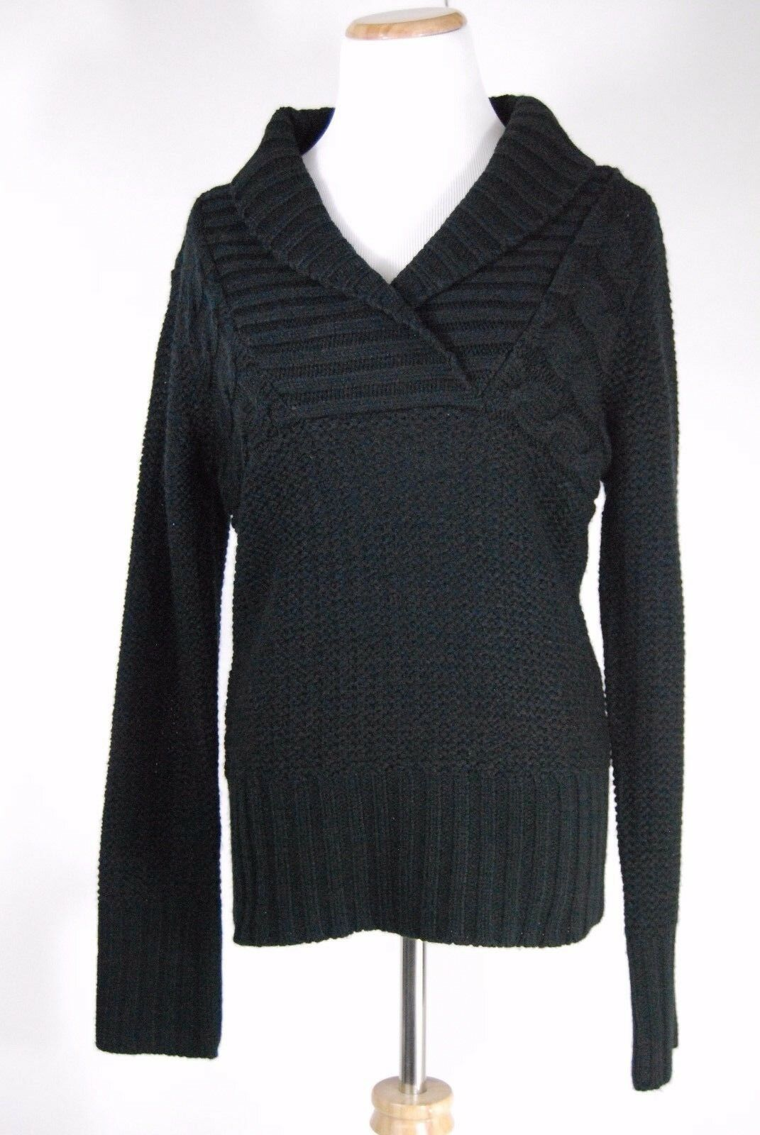 Primary image for Junior's Sweater Project - V-neck Sweater - Black - Size L