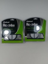 iRobot Roomba Vacuuming Robot Filter Pack 6 Filters 2 packs of 3 Model 4... - $17.81