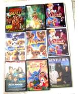 Lot of 9 Disney DVD Movies including Cinderella III, Bambi II, Air Buddi... - $37.99