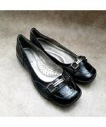 Karen Scott Womens Orionn  Sz 6 M Black  Slip On Loafer Ballet Flats - $24.99