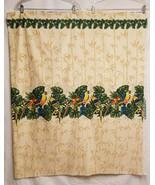 """Fabric Hawaii Parrot Border 2 yd 43"""" Printex  PTK-046 MuuMuu Decor - $33.87"""