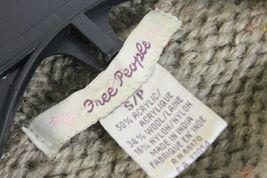 Free People Women's Long Knit Cardigan Size S/P Boho Hippie Sweatercoat Maxi image 3