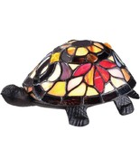 Quoizel TFX1519T Tiffany Land Turtle Table Lamp, 1-Light, 7 Watts, Bronz... - $82.01
