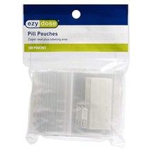 Ezy Dose Disposable Pill Pouches 100 Count │ Pill and Vitamin Storage
