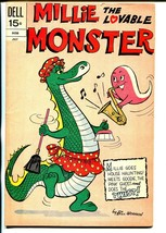 Millie The Lovable Monster #4 1972-Dell-wacky humor-Bill Woggon-FN+ - $47.92