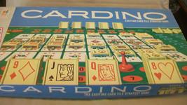 Vintage 1970 Cardino Card Tile Strategy Game From Milton Bradley - $29.69