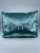 Pottery Barn Kids Disney Frozen LET IT GO Sequin Pillow NWT - $44.50