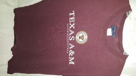 Texas A&M Aggies, Men's Large Short Sleeve 100% Cotton Jansport Tee Shirt - $5.99
