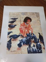 """New Matted """"Aria"""" Print Art Work Number  Z216  Plaza de Marcos in Venice,Italy image 1"""