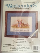 Weekenders Counted cross stitch kit The Flopsy Bunnies by Beatrix Potter... - $6.93