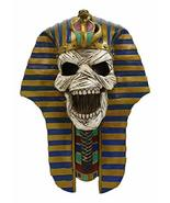 Ebros The Screaming Mummy Golden Cobra and Vulture Mask of Pharaoh Egypt... - €46,35 EUR
