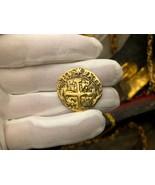 SOLID 14KT GOLD REPO PERU 8 ESCUDOS 1740 SHIPWRECK TREASURE  - $1,350.00