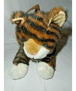 JAAG Plush Tiger Stripe Cat Kitten Childs Small Purse Carry All Stuffing... - $19.79